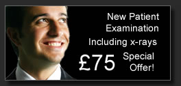 New Patient examination, Including x-rays £30 Special Offer